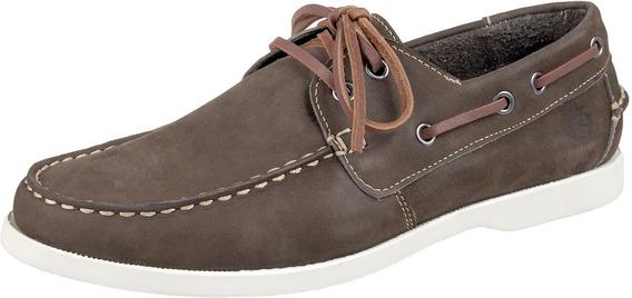 Docksider Masculino Em Couro Tamanho Especial Shoes Grand