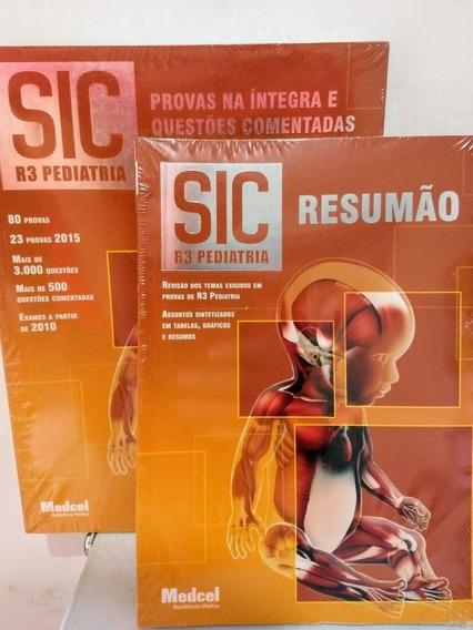 Sic R3 Pediatria Resumão, Questões Comentadas 2 Vl Medcel