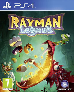 Rayman Legends Ps4 - Juego Fisico - Cjgg