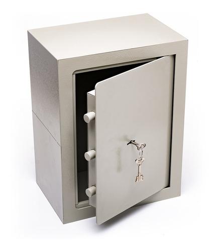Caja Fuerte 40x30x20 Cm Abulonar Pared Vertical A4 S/b