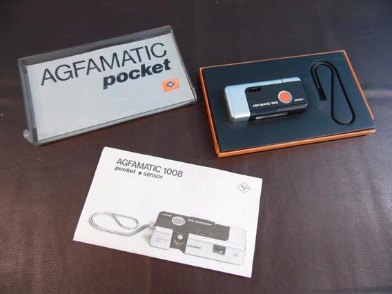 Antiga Câmera Fotográfica - Agfamatic 1008 Pocket Sensor