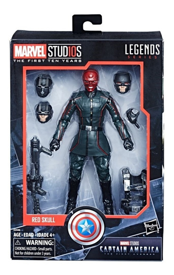 Red Skull Marvel Legends Studios Cinematic First Avenger