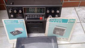Rádio Gravador National Vintage