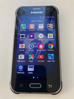 Celular Samung Galaxy J1 Ace - Com Trinco No Vidro