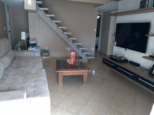 Cobertura À Venda, 143 M² Por R$ 590.000,00 - Santa Rosa - Niterói/rj - Co2254
