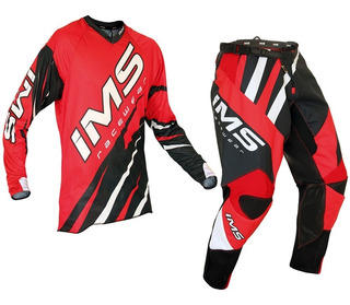 Calça Camisa Off Road Ims Action Juvenil Vrm Motocross Bike