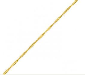 Corrente Ouro 18k Singapura 40cm 1.3g - 32
