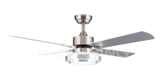 Ventilador Techo Luz Led Control Remoto 18 Cuotas 8723 Ax