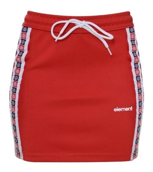 Liquidação- Saia Feminina Element Sport Skirt- Original