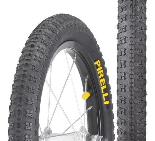 Imagem 1 de 2 de Pneu Pirelli Aro 20x1.75 Bicicleta Bmx Cross Preto Top Cross