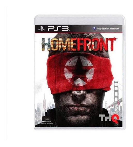 Homefront - Ps3 - Original - Mídia Fisica