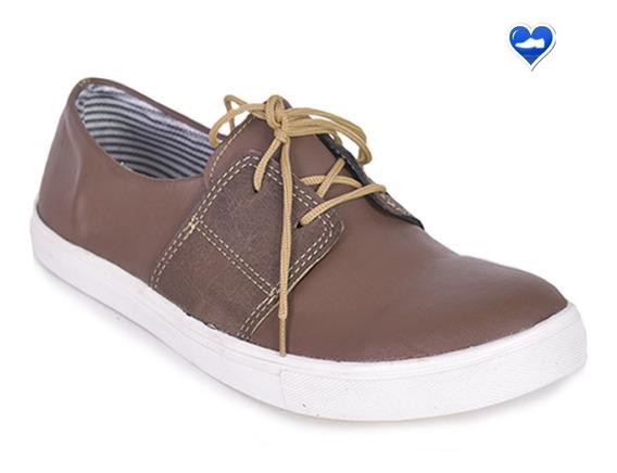 Mocasin Hombre Urbano Modelo Nautico 3 De Shoes Bayres ®