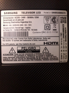 Samsung Un40ku6000
