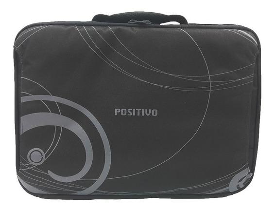 Maleta Capa Case Positivo P/ Notebook C/ Bolso Externo - 14