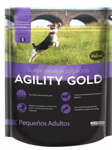 Imagen 1 de 1 de Agility Gold Pequeños Adultos 3 Kg - kg a $18511