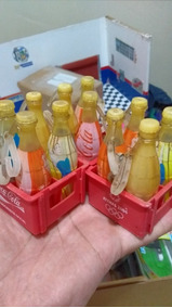 Miniaturas Garrafinhas Coca Cola Olimpiadas 2004