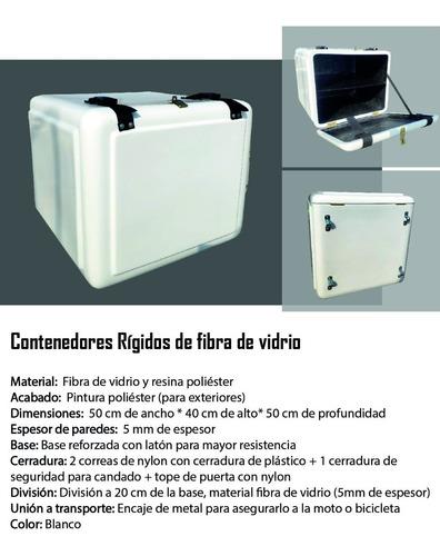 Caja Delivery Rigidas De Fibra De Vidrio - Ofert