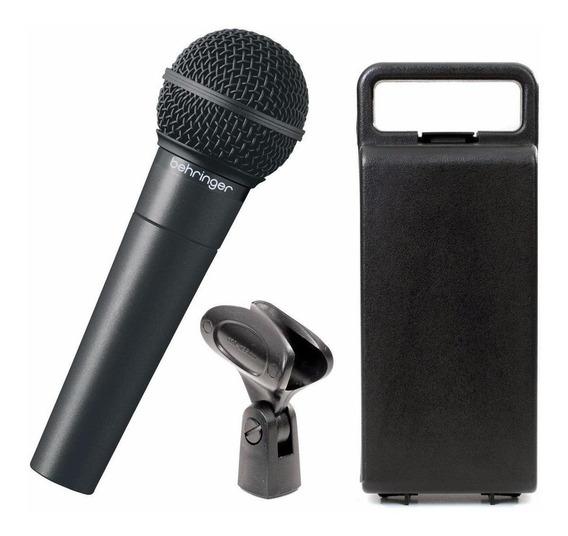 Microfone Behringer XM8500 cardióide preto