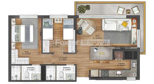Imagem 1 de 30 de Apartamento, 2 Dormitórios, 71.51 M², Jardim Do Salso - 174672