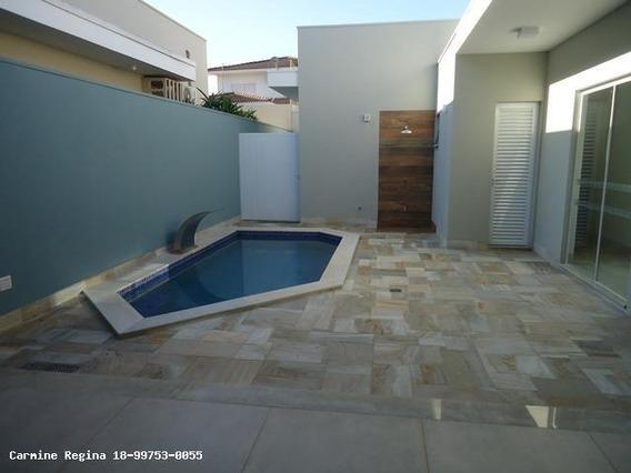 Casa Em Condomínio Para Venda Em Presidente Prudente, Parque Residencial Damha Ii, 4 Dormitórios, 4 Suítes, 6 Banheiros, 2 Vagas - 011_1-845379