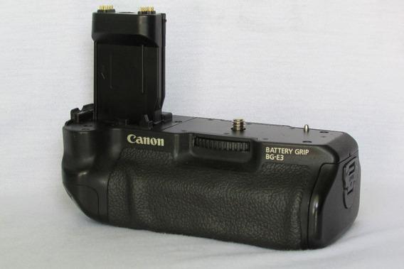 Battery Grip Canon Bg-e3 - (brinde: Corpo Da Câmera - Xti)