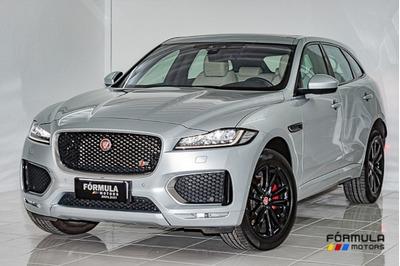 Jaguar F-pace 3.0 First Edition 2017 Prata