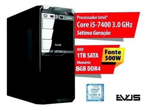 Microcomputador Desktop Evus Modelo Neo 1008 Sétima Geração