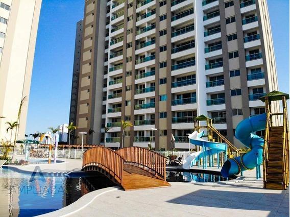 Apartamento Com 2 Dormitórios Para Alugar, 69 M² Por R$ 2.400,00/mês - Fátima - Fortaleza/ce - Ap0690