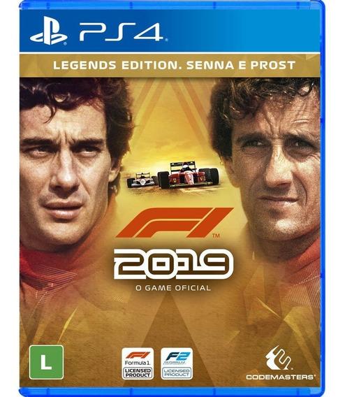 F1 2019 Legends Edition - Ps4 Mídia Física