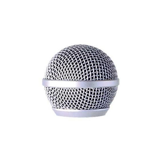 Globo Gb 58 Leson Microfone Profissional Prata