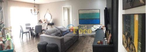 Apartamento Com 3 Dormitórios À Venda, 118 M² Por R$ 750.000,00 - Centro - Itatiba/sp - Ap0345