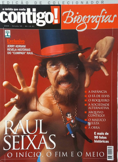 Revista Contigo Raul Seixas