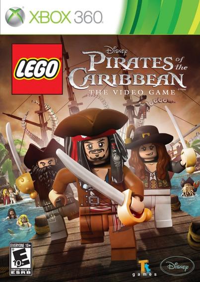 Jogo Lego Piratas Do Caribe Xbox 360 X360 Game Frete Grátis!
