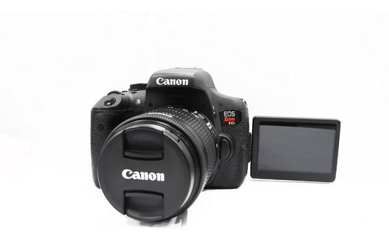 Canon Eos T6i Kit Lente 18-55mm Stm