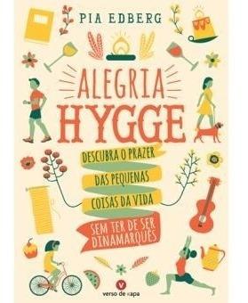 Livro Alegria Hygge Pia Edberg Bem-estar Importado Portugal