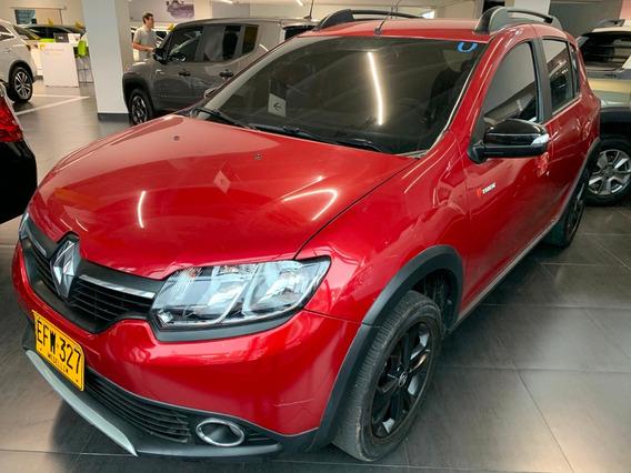 Renault Stepway Zen Treck 1.6 Mt Rojo Fuego 2018 Efw327