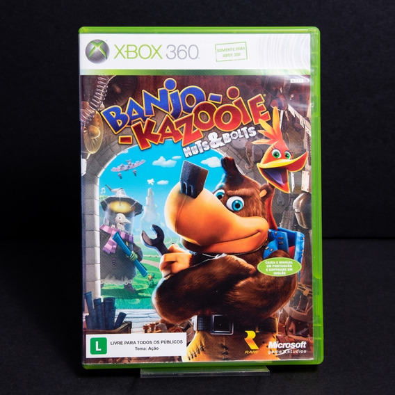 Banjo Kazooie Nuts And Bolts - Xbox360