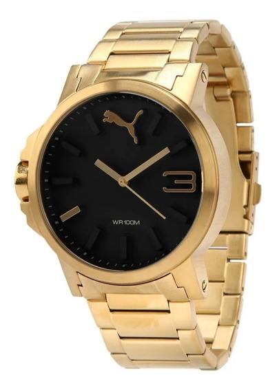 Relógio Puma Hw208 Ouro 18k