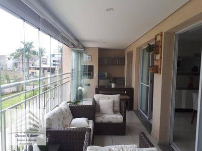Apartamento Na Vila Augusta, Condomínio Parque Clube, 150m², Estuda Permuta. - Codigo: Ap0438 - Ap0438