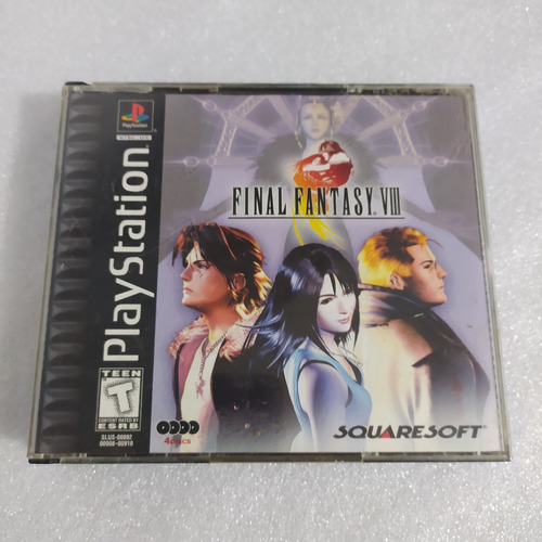 Final Fantasy Viii Incompleto Original Ps1