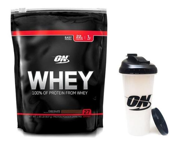 Whey Black 1,82 Lb + Vaso Optimum Nutrition Proteina