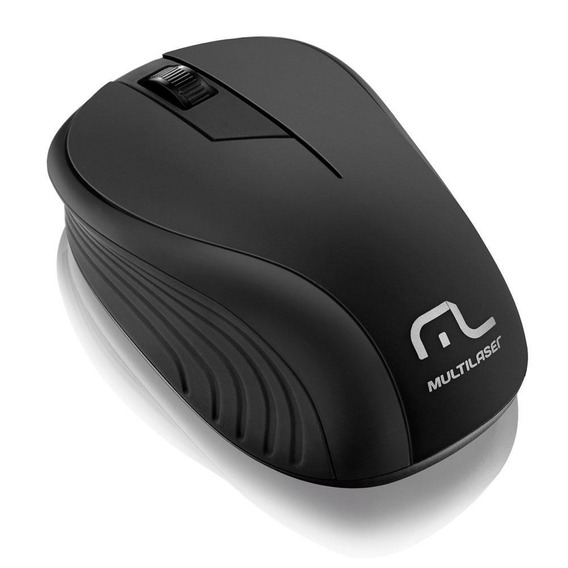 Mouse Multilaser Sem Fio Usb 2.4ghz Mo212