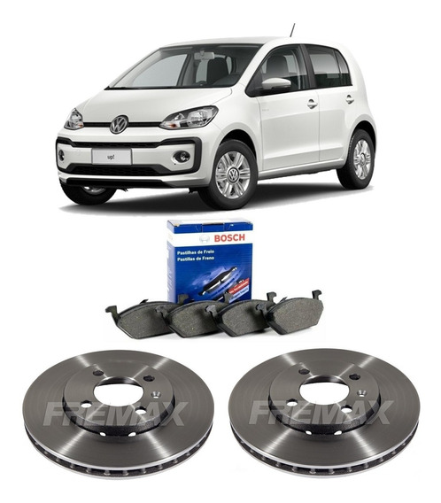Pastilha Bosch Disco Fremax Carbon Vw Up 1.0 Tsi