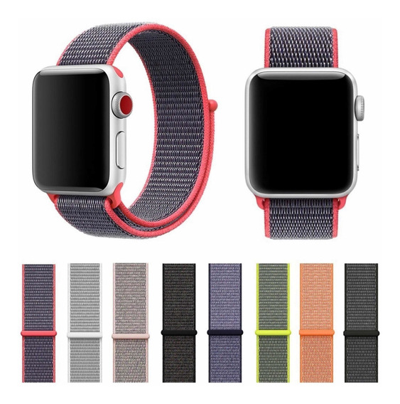 Extensible Correa Apple Watch, Serie 1-4 Nylon Ligero,