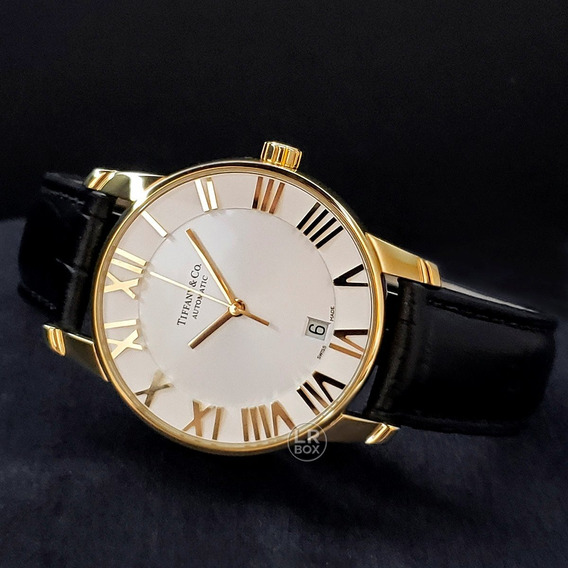 Tiffany Atlas Gold 18k Automatic