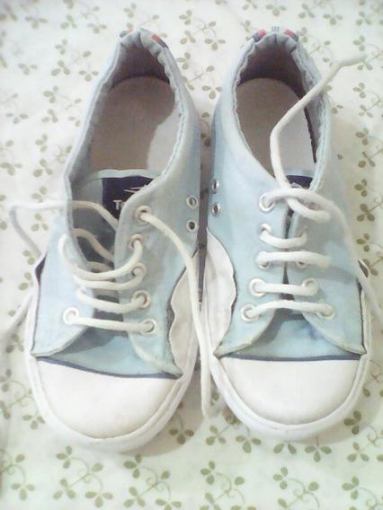 Zapatillas Topper Niño N¿ 30 Celeste