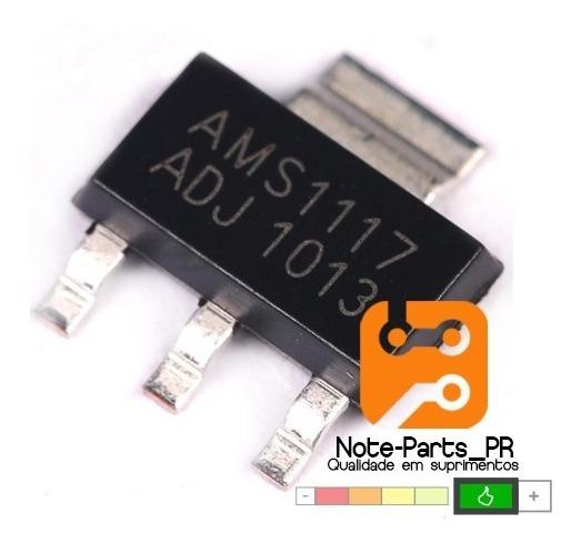 10 Pçs Regulador De Tensão Ams1117 Adj - Frete Cr