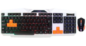 Kit Mouse Teclado Ice Usb Tm300 513301 Oex 25471