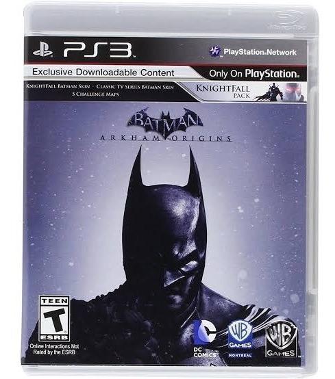 Jogo Ps3 Batman Arkham Origins Mídia Física