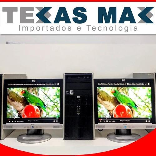 Imagem 1 de 4 de Cpu Hp I7+ Monitor De 17+teclado E Mouse
